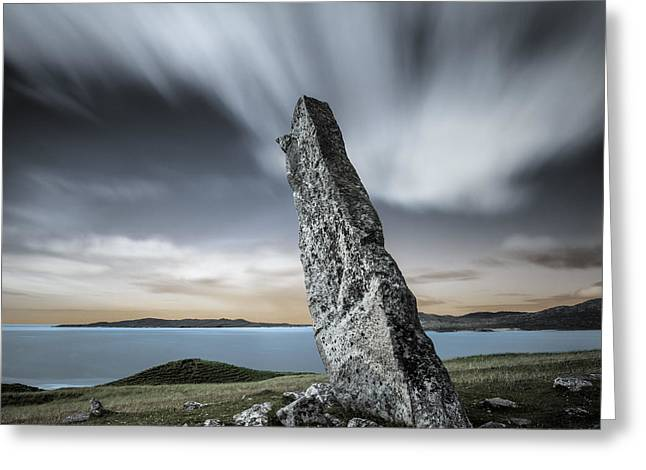 Macleod's Stone Greeting Card by Dave Bowman