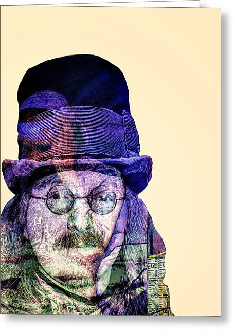 Mad Hatter Greeting Cards - Mad Hatter Greeting Card by Dominic Piperata