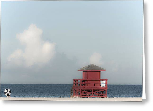 Guard Tower Greeting Cards - Made in the Shade Greeting Card by Don Spenner