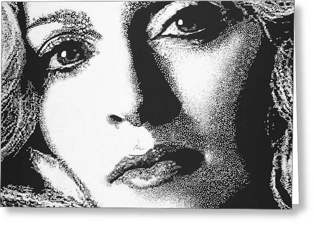Madonna Greeting Card by Max Eberle