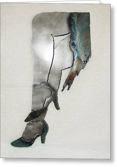 Dancer Sculptures Greeting Cards - Mae SOLD Greeting Card by Steve Mudge