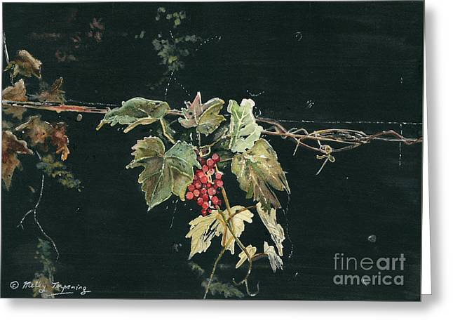 Magic In The Darkness Greeting Card by Melly Terpening