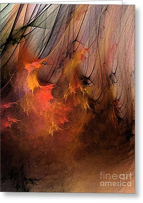 Large Sized Greeting Cards - Magic Greeting Card by Karin Kuhlmann