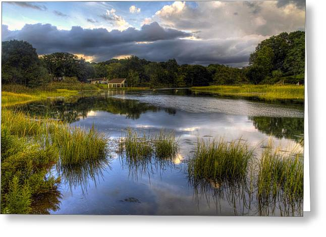 Summer Storm Greeting Cards - Magic Light Greeting Card by J Charles