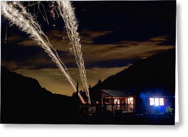 July 4th Greeting Cards - Magic Mountain Greeting Card by James BO  Insogna