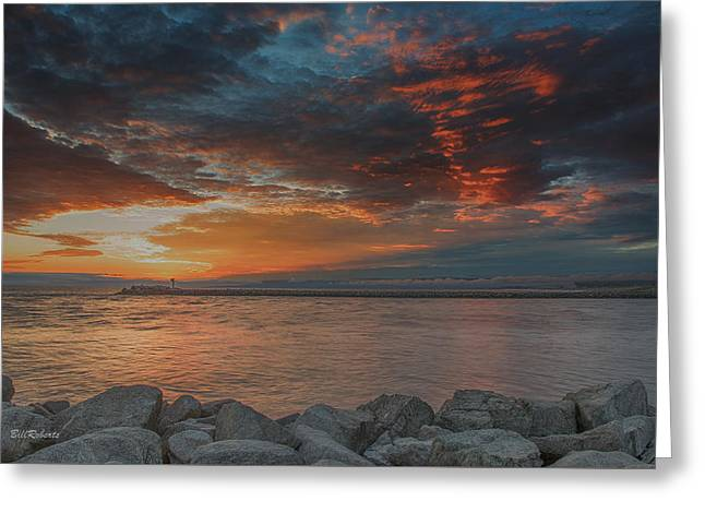 California Central Coast Greeting Cards - Magic Sky  Greeting Card by Bill Roberts