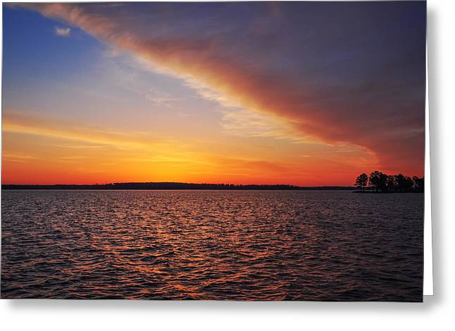 Magic Time Greeting Cards - Magic Time on the Chesapeake Greeting Card by Bill Cannon