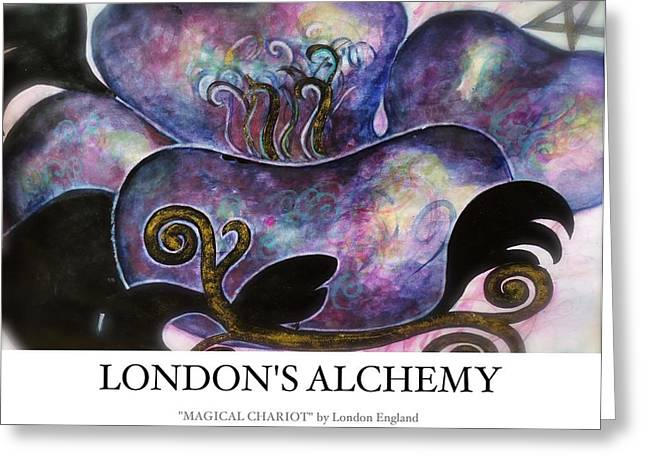 London England Greeting Cards - Magical Chariot Greeting Card by London England