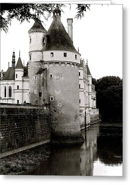 Chateau Greeting Cards - Magical Greeting Card by Leah Meulemans