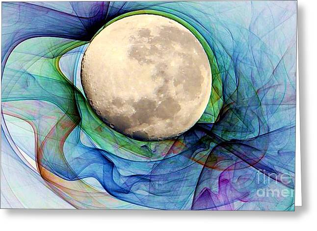 Magnetic Field Greeting Cards - Magnetic Field Greeting Card by Ron Bissett