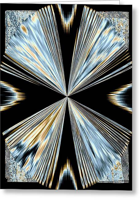 Will Power Digital Art Greeting Cards - Magnetism 2 Greeting Card by Will Borden