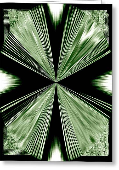 Will Power Digital Art Greeting Cards - Magnetism Greeting Card by Will Borden