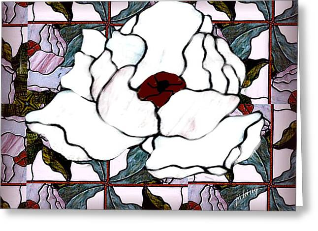 Print Greeting Cards - Magnolia for Maggie Greeting Card by Jacquie King