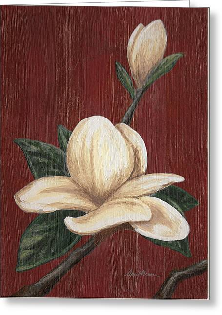 Magnolia I Greeting Card by April Moen