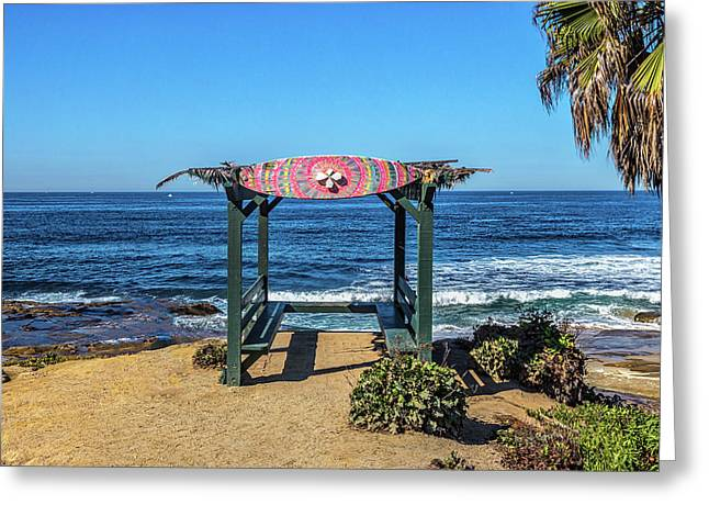 Mahalo Greeting Card by Peter Tellone