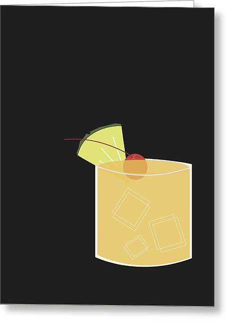 Mai Tai  Greeting Card by Julia Garcia