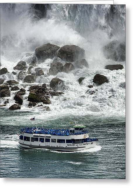 Rainbow River Greeting Cards - Maid of the Mist 2 Greeting Card by Stephen Stookey