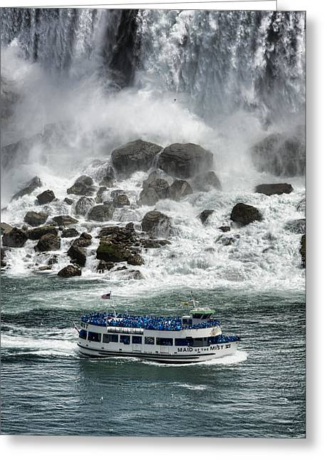 Rainbow River Greeting Cards - Maid of the Mist 3 Greeting Card by Stephen Stookey