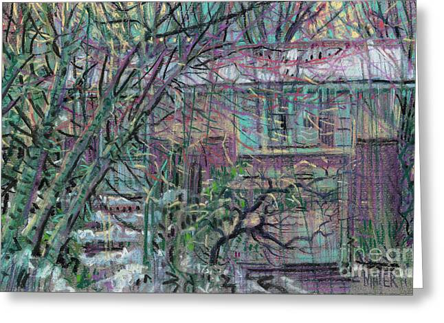 Maier House Greeting Card by Donald Maier