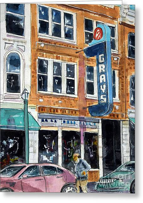 Franklin Tennessee Greeting Cards - Main and Grays Greeting Card by Tim Ross