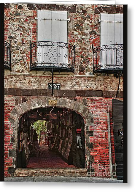 Artistic Landscape Photos Greeting Cards - Main street no 37 Greeting Card by Tom Prendergast
