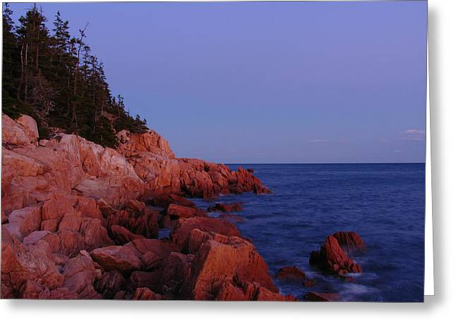 Maine Landscape Greeting Cards - Maine Acadia NP  Greeting Card by Juergen Roth