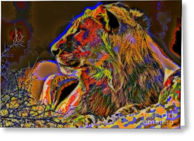 Majestic Greeting Card by WBK