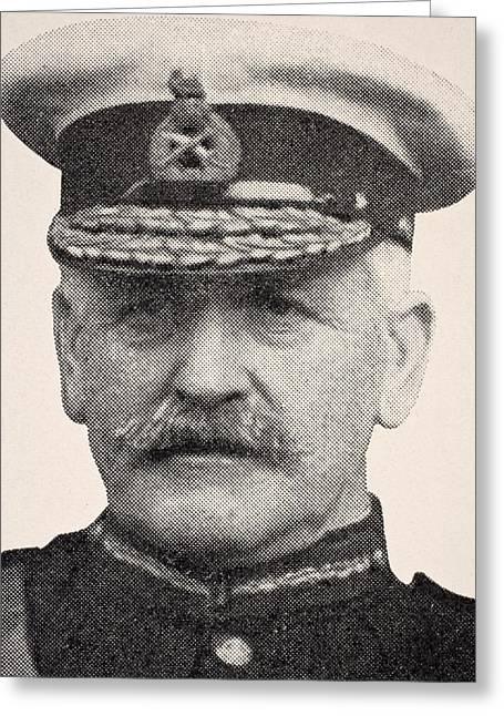 Sir Charles Greeting Cards - Major General Sir Charles Carmichael Greeting Card by Ken Welsh