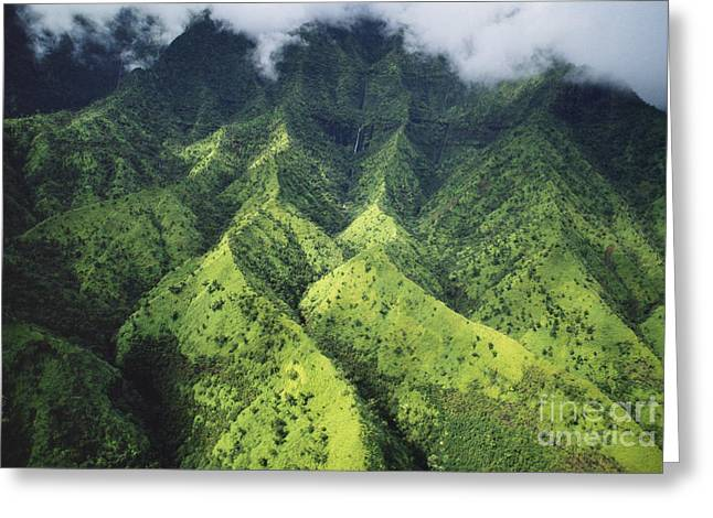 Omnipotent Greeting Cards - Makalena Mountain Greeting Card by Bob Abraham - Printscapes