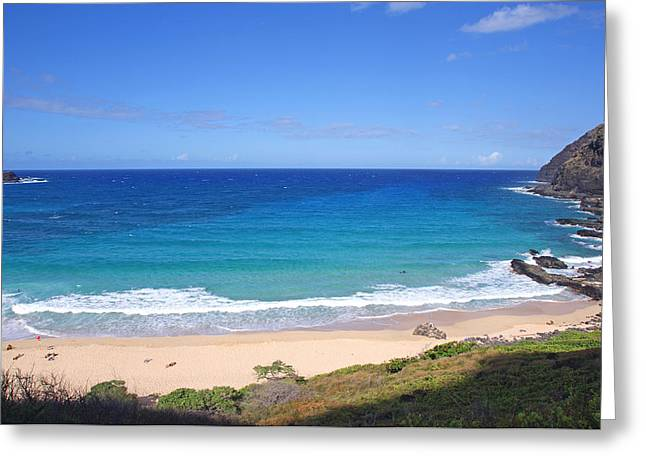 Makapuu Beach Greeting Card by Kevin Smith