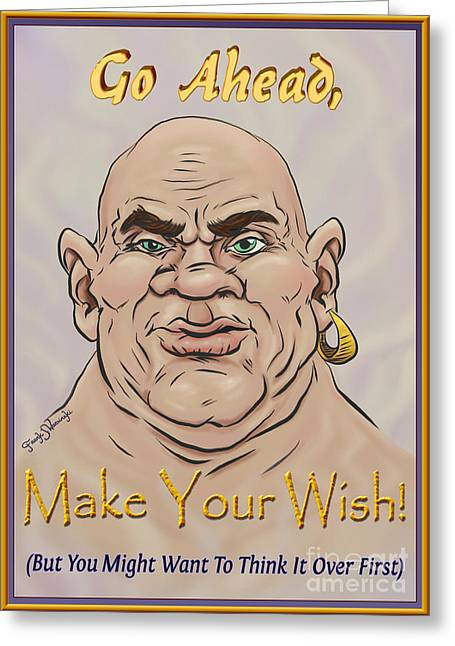 Wishes Greeting Cards - Make Your Wish Greeting Card by Frank Warsinski