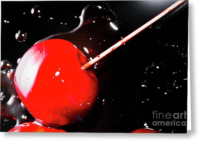Making Homemade Sticky Toffee Apples Greeting Card by Jorgo Photography - Wall Art Gallery