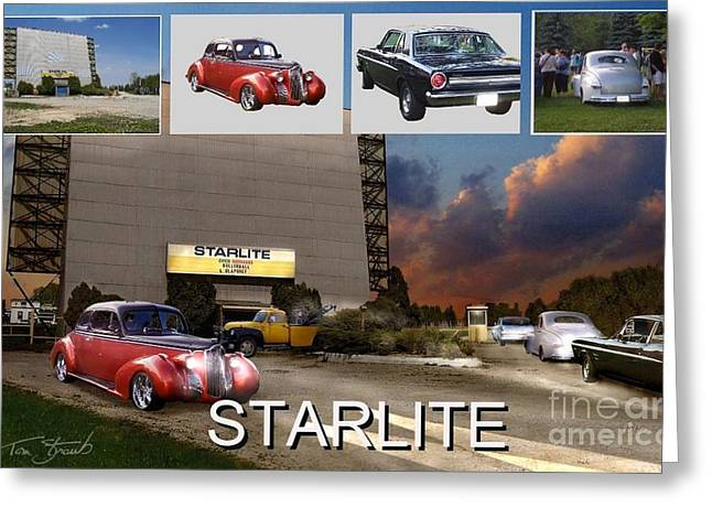 Ontaio Greeting Cards - Making the Starlite Greeting Card by Tom Straub