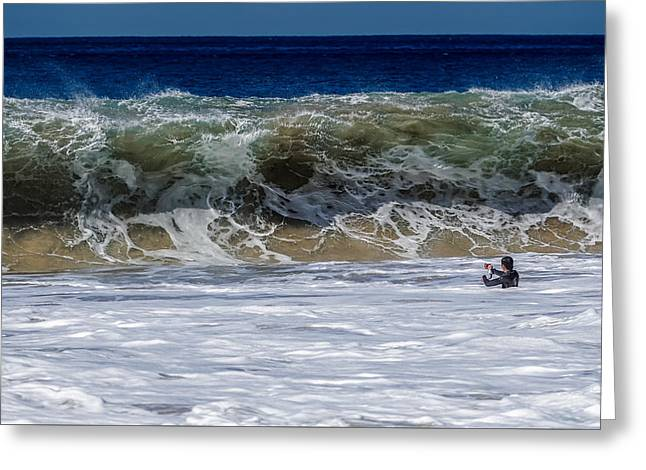 Beach Photography Greeting Cards - Makua Sand Monster Greeting Card by Chris and Wally Rivera