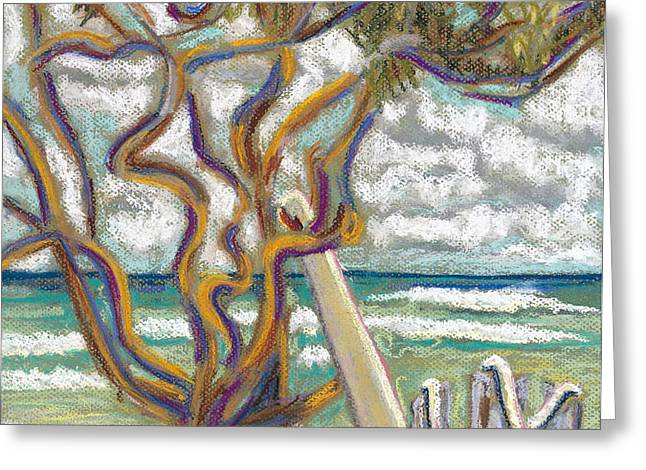 Malaekahana Tree Greeting Card by Patti Bruce - Printscapes