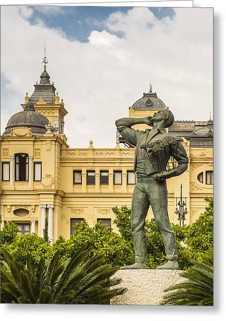 Malaga Greeting Cards - Malaga Spain Greeting Card by Jon Berghoff