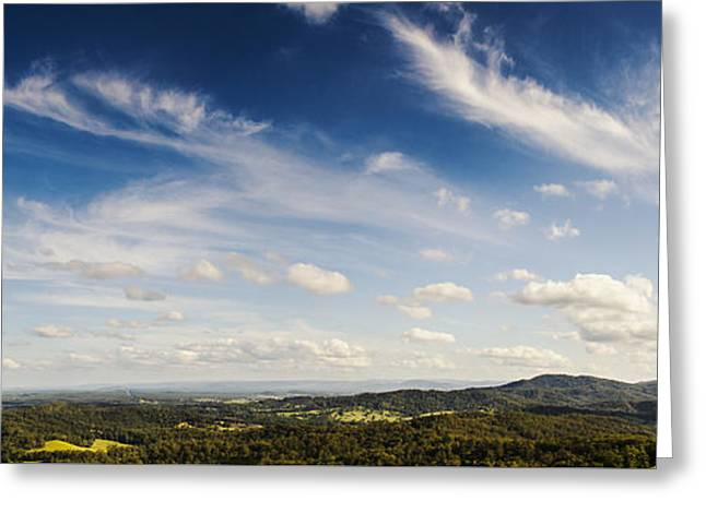 Maleny Hinterland Greeting Card by Jorgo Photography - Wall Art Gallery