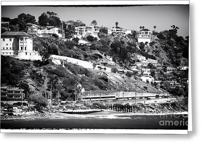 Pacific Ocean Prints Greeting Cards - Malibu Living Greeting Card by John Rizzuto
