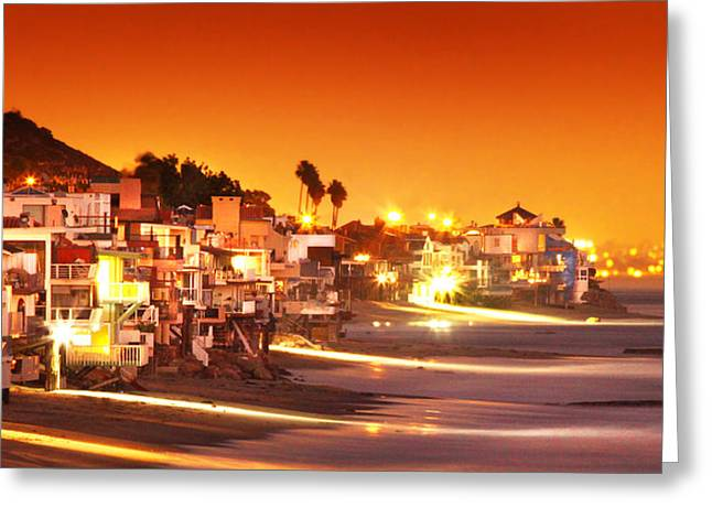Pch Greeting Cards - Malibu to Santa Monica Greeting Card by Roger Lyon