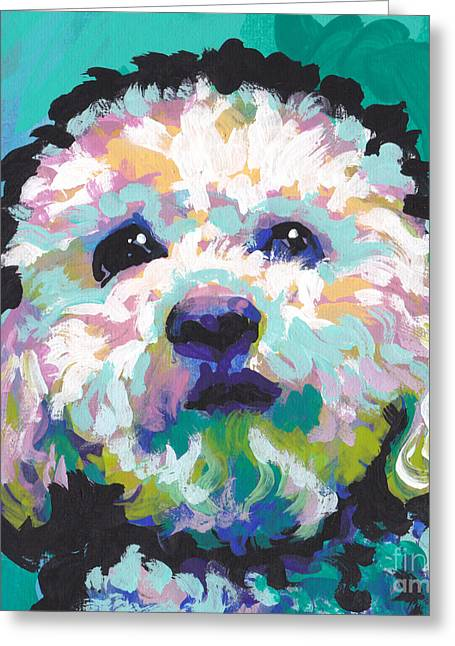 Malted Milky Poo Greeting Card by Lea S