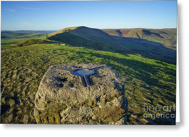 Mam Tor Views Greeting Card by Stephen Smith