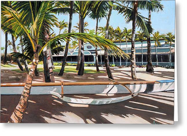 Lahaina Greeting Cards - Mamas Fish House Greeting Card by Stacy Vosberg