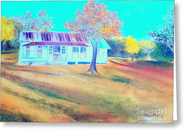 Mamas House In Arkansas Greeting Card by Jo Anna McGinnis
