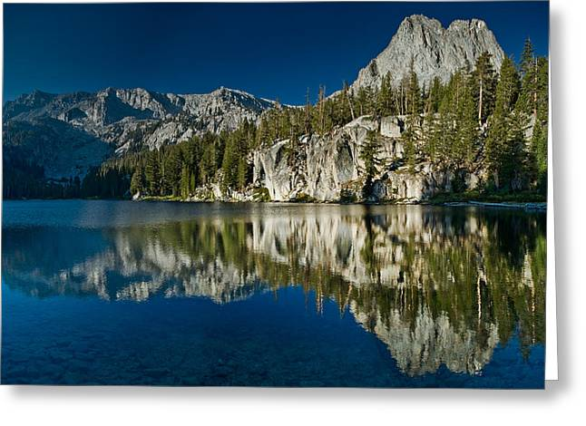 Tj Greeting Cards - Mammoth Lakes Reflections Greeting Card by Greg Nyquist