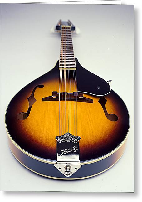 Mandolin Greeting Cards - Mandolin  Greeting Card by Robert Ponzoni