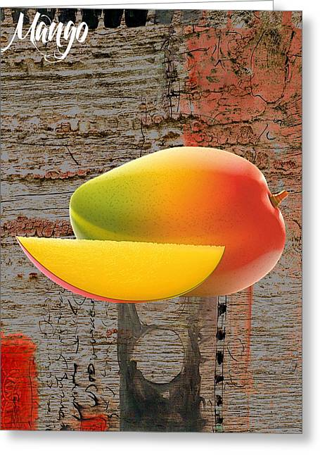 Mango Mixed Media Greeting Cards - Mango Collection Greeting Card by Marvin Blaine