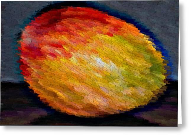 Mango Greeting Cards - Mango Greeting Card by Liya Boge