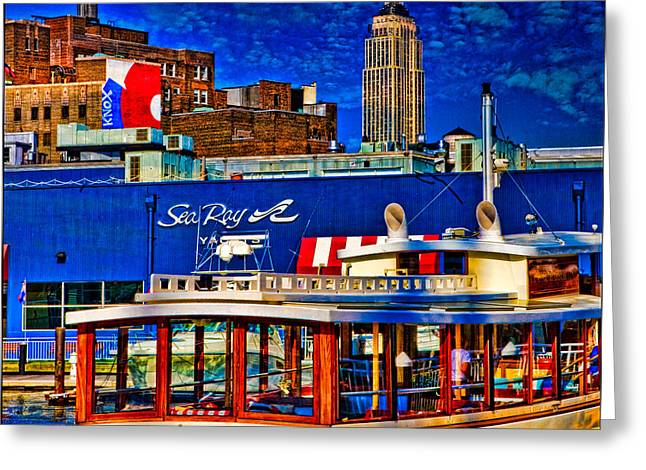 Chelsea Greeting Cards - Manhattan Greeting Card by Chris Lord