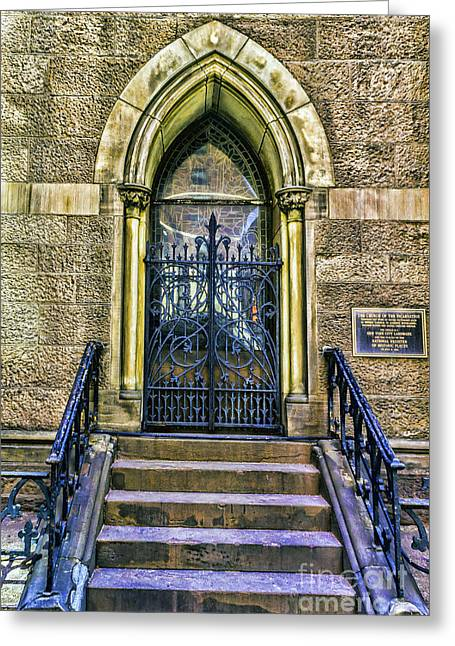 Recently Sold -  - Incarnation Greeting Cards - Manhattan  Episcopal Church of the Incarnation Greeting Card by Nick Zelinsky