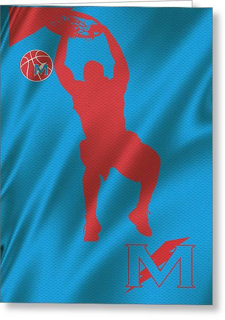 Basket Ball Greeting Cards - Manual Thunderbolts 7 Greeting Card by Joe Hamilton